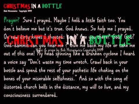 CHRISTMAS in a BOTTLE Alcoholics Anonymous