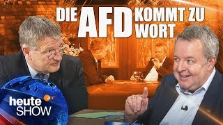 Jörg Meuthen erläutert die Politik der AfD