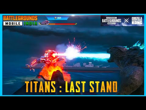 TITANS : LAST STAND MODE GAMEPLAY IS HERE ( PUBG MOBILE )