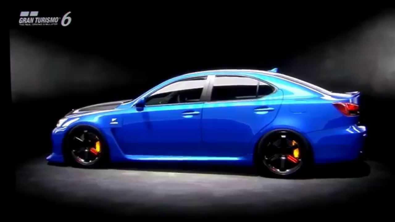 JmmR TuninG Lexus IS F ´07 GT6 - YouTube