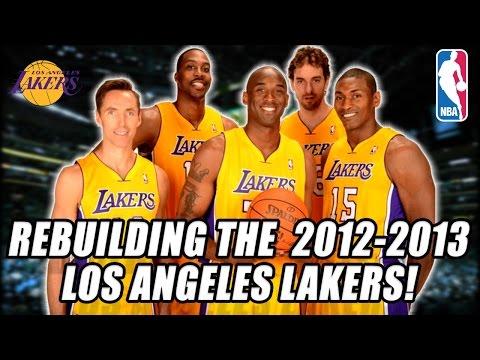 REBUILDING THE 2012-2013 LA LAKERS! KOBE BRYANT VS LEBRON JAMES IN NBA FINALS?! NBA 2K17 MY LEAGUE!