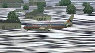 FS2004 Pouso em New York (La Guardia) [FS2004 Landing in New York (La Guardia)]