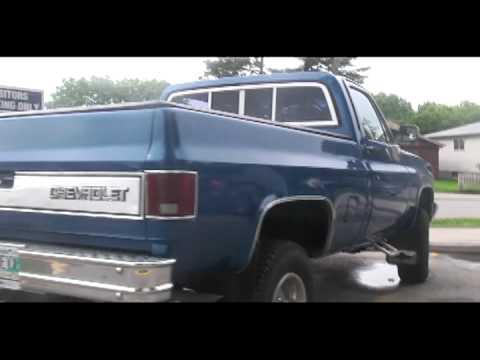 My 1981 Chevrolet Silverado - YouTube