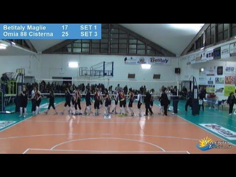 Betitaly Maglie vs Omia 88 Cisterna Latina 1-3