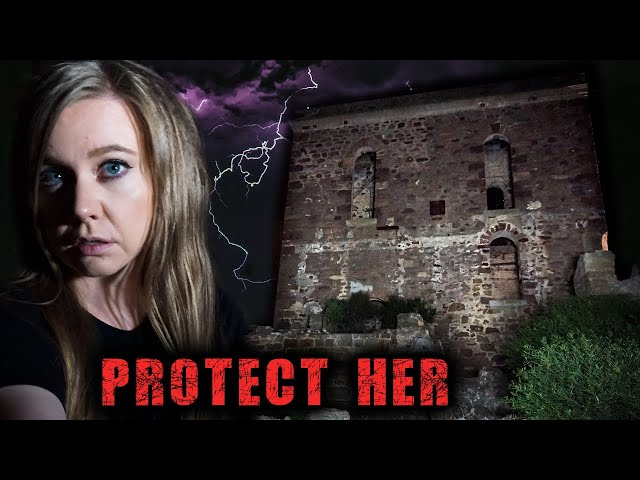 Ghost Voices At Haunted Mines | I ALMOST CRIED