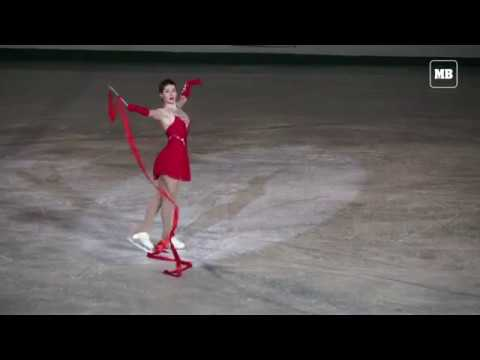 Figure skating pageant honours former North Korean leader
