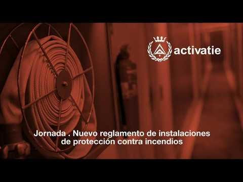 Jornada. Nuevo reglamento de instalaciones de protección contra incendios thumbnail