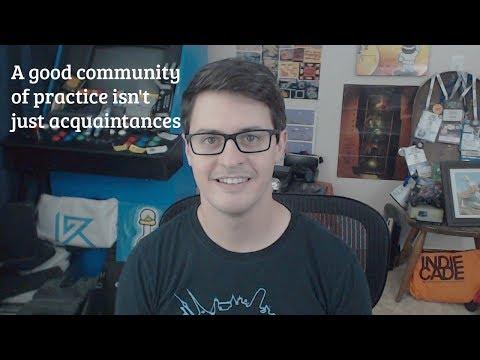 A good community of practice isn't just acquaintances