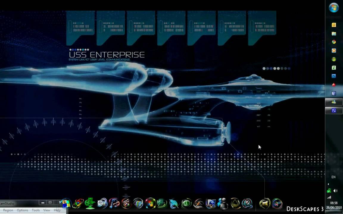 Star Trek Windows 7 Youtube
