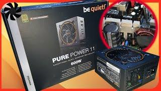обзор Блок питания be quiet! Pure Power 10 CM 600 Watt