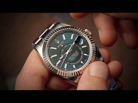 The Steel Sky-Dweller - Rolex Sky-Dweller 326934 | Watchfinder & Co.