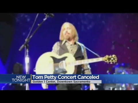 Tom Petty Illness Leaves Fans At  Golden 1 Center Heartbroken