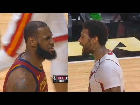 LeBron James Gets Schooled By James Johnson Then Gives Up Th