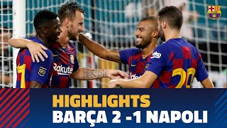 FC Barcelona - SCC Napoli (2-1) HIGHLIGHTS