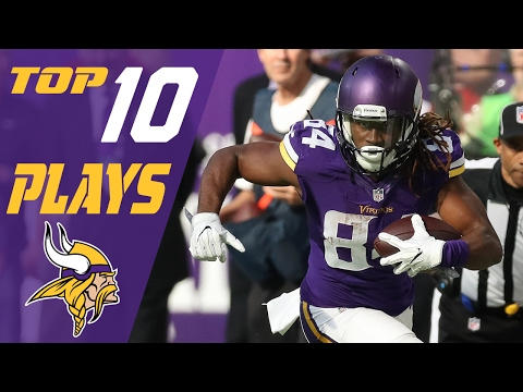 Vikings Top 10 Plays of the 2016 Season | NFL Highlights