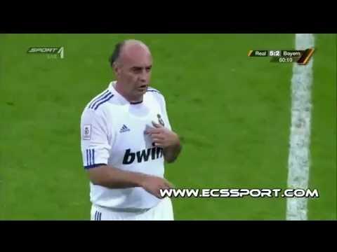 Real Madrid all stars Vs Bayern Munich all stars 8-3 All goals [05.06.11]