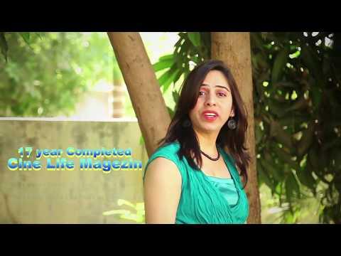 Cine Life Gujarati Film Award  2018 Invitation - Dalpat Gohil - Actress Harshika Dave