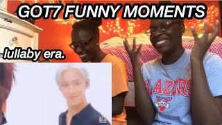 GOT7 FUNNY MOMENTS LULLABY ERA (REACTION)