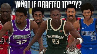 What If The 10 Greatest NBA Players Of All Time Were Drafted Today? | NBA 2K20