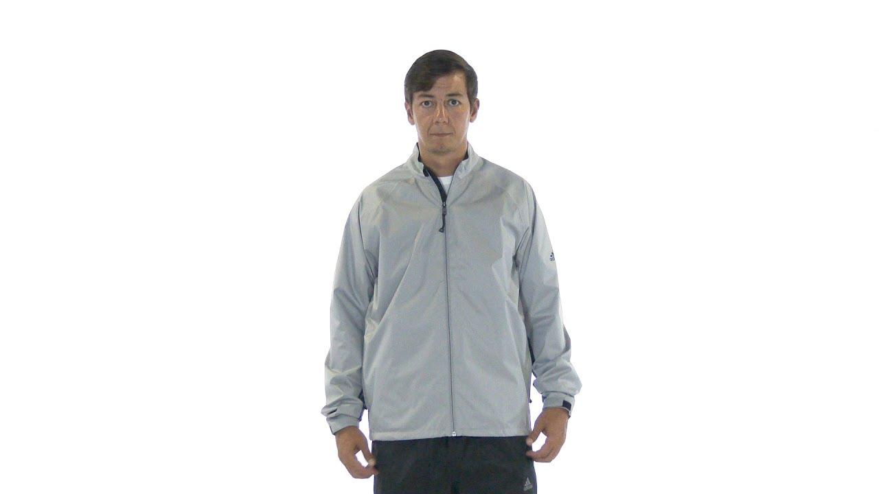 6690081af adidas Mens climastorm Provisional II Rain Jacket - YouTube