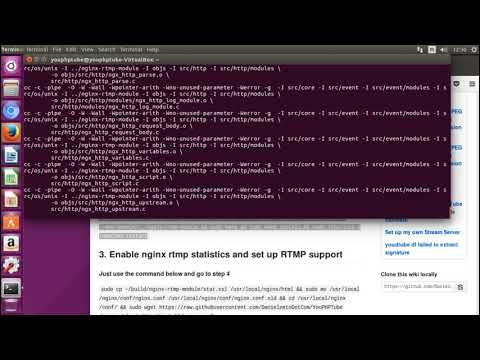 10 min YouPHPTube Stream Server Installation