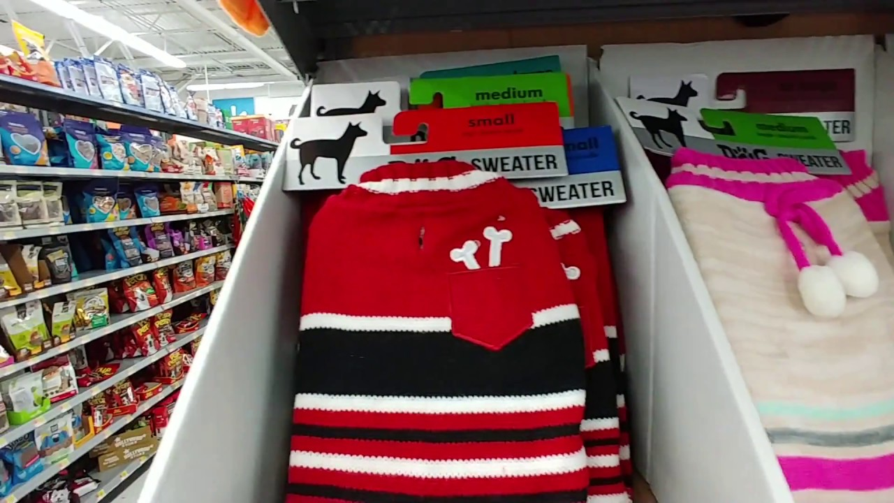 Dog Sweaters At Walmart 2018 Youtube