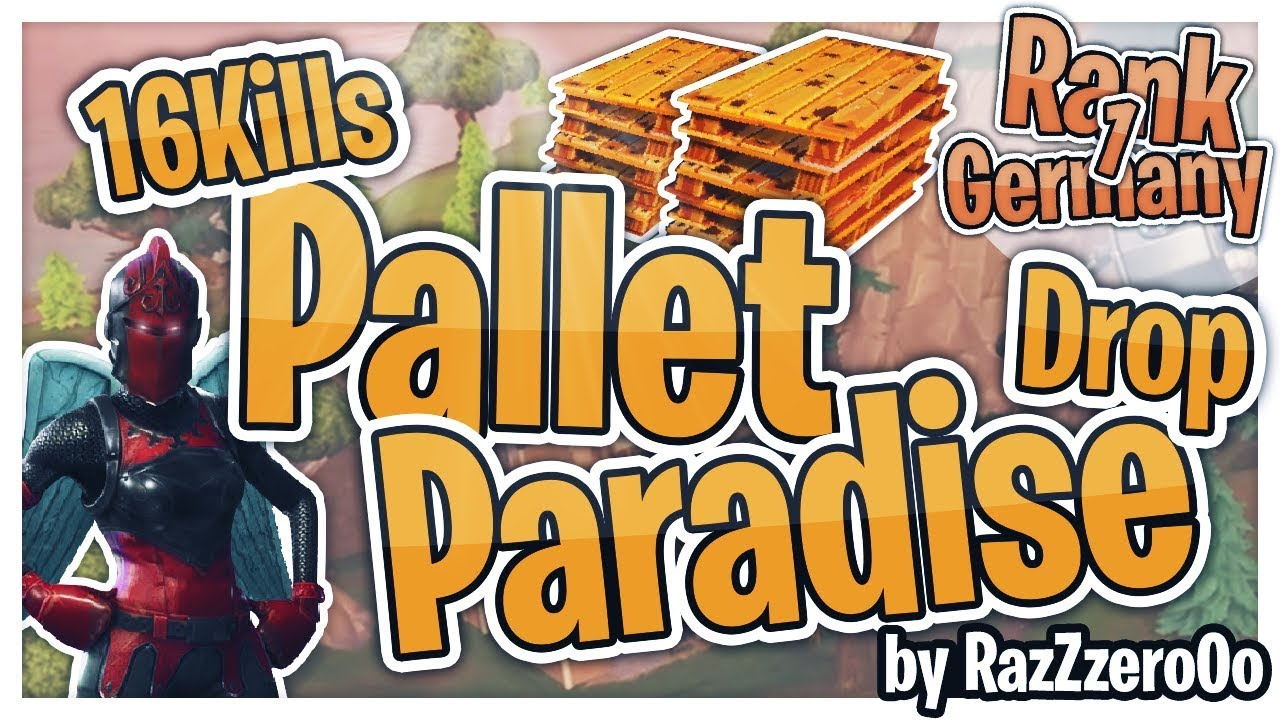 16 Kills Pallet Paradise Drop - YouTube
