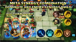 ANTI ANY SYNERGIES BUILD | BEST SYNERGY - TOP GLOBAL MAGIC CHESS PLAYER | Mobile Legends Bang Bang