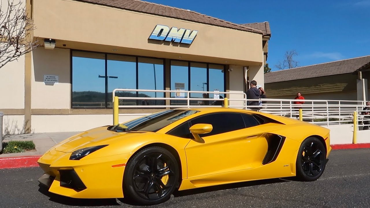My Lamborghini Aventador was issued a VIN Check by Police...