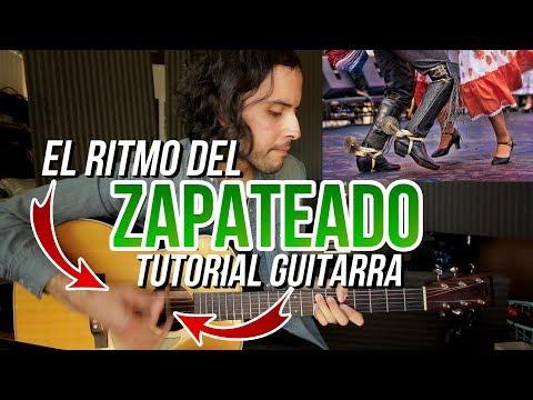 Aprende el rasgueo del ZAPATEADO / HUAPANGO! El Sinaloense - Pavido Navido - Tutorial Guitarra