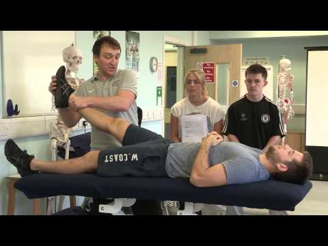 Sport Rehabilitation at the University of Hull