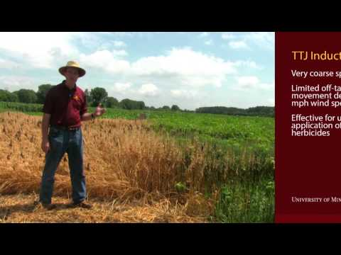 Herbicide Spray Drift Demonstration