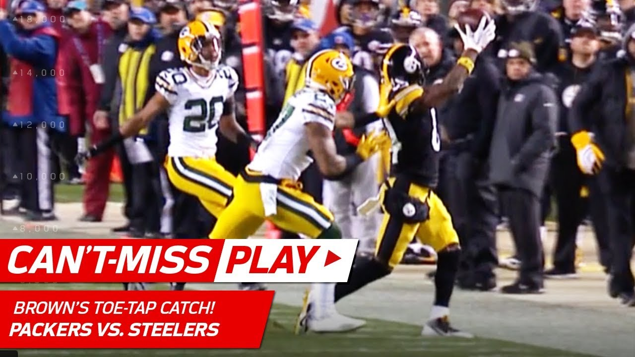 Antonio Brown's Amazing Catch Sets Up Boswell's Game-Winning FG! | Can't-Miss Play |