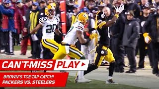 Antonio Brown's Amazing Catch Sets Up Boswell's Game-Winning FG!   Can't-Miss Play   NFL Wk 12