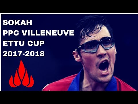 SOKAH - PPC VILLENEUVE ETTU CUP 2017 2018 TABLE TENNIS