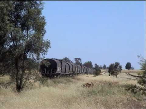 Pioneer railway--Burcher & Lake Cowal Then & Now