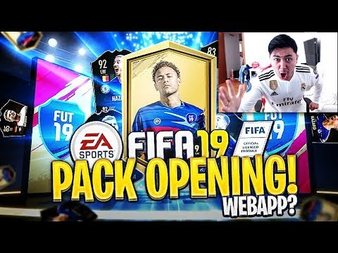 NON CI CREDO!!! HAZARD 92 IF?!? PRIMO PACK OPENING FIFA 19 WEB APP!