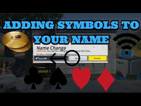 Rules of Survival - 👉 How To Add Symbols To Your Name 👈