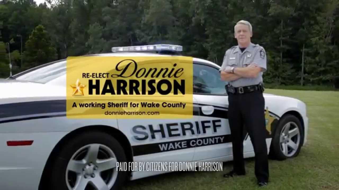 Working- Sheriff Donnie Harrison