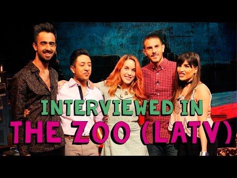 Amarna Miller interviewed in The Zoo on LATV | Talks