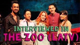 Amarna Miller interviewed in The Zoo on LATV   Talks