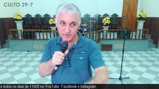 Culto de Louvor e Adoração - IPB Tingui 29/7/2020