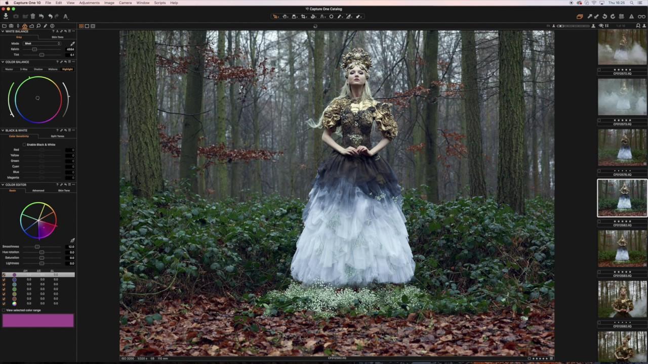 Capture One Pro 10 - Simple Adjustment Guide | Fashion | Bella Kotak