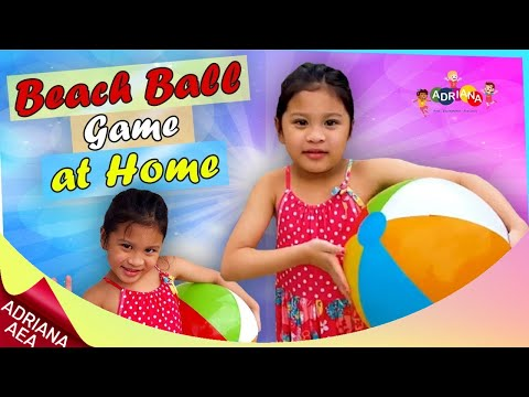 Fun Activity For Students To Do At Home | Beach Ball Games (Activity For Kids At Home)