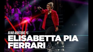 "Elisabetta Pia Ferrari  ""Come"" - Blind Auditions #5 - TVOI 2019"