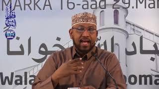 Muranka iyo khilaafka diiniga ah Dr Ali Mohamed Salah [ Oslo Norwey 2018 HD ]