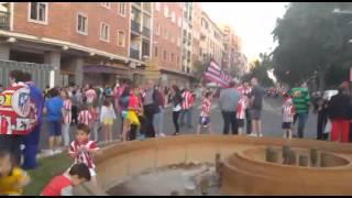 Triunfo del AT de Madrid en la Liga. Celebración en Segovia 17/5/2014