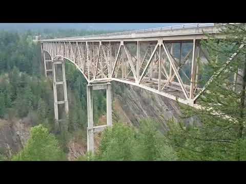 034 MT / ID: Yaak Falls, Moyie River Canyon, Smith Lake, Whiskety Rock Bay at Lake Pend Oreille