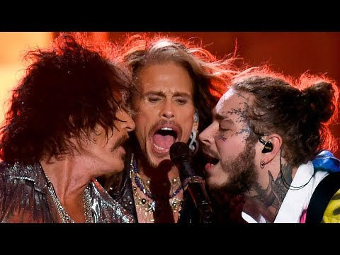 Post Malone SURPRISES Crowd with Aerosmith for