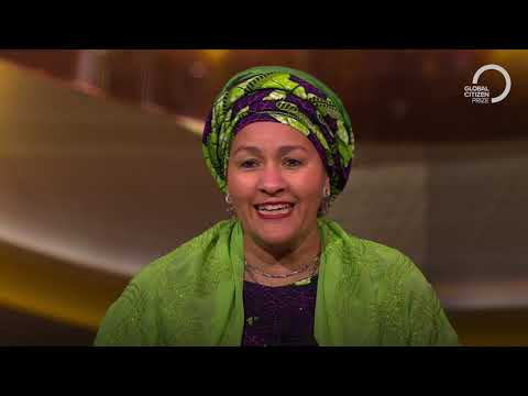 Amina J. Mohammed, Global Citizen Prize World Leader Winner